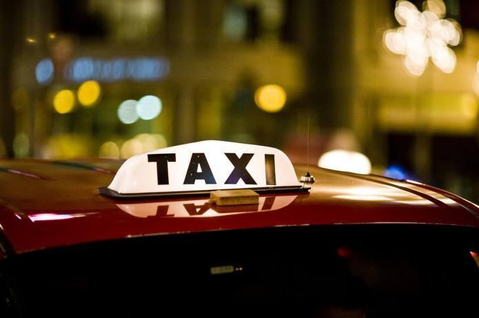cab ride.