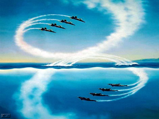 Jets into dolphins transforming our world