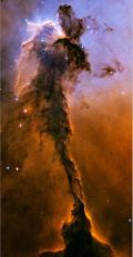 Hubble Photo of Eagle Nebula
