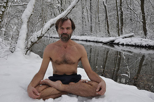 Iceman Wim Hof